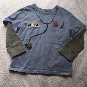 "babyGap long sleeve ""Dr.Love"" t-shirt"